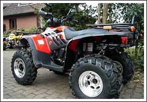 ATV QUAD Slovenija - Linhai 300 2x4